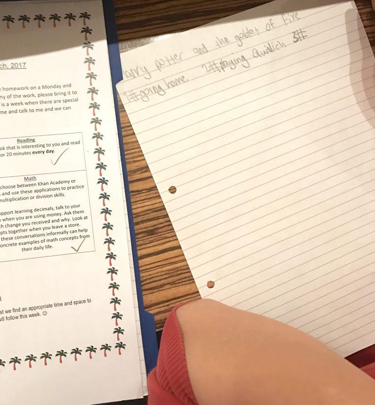 Leben mit Kindern: Hausaufgaben gehören dazu