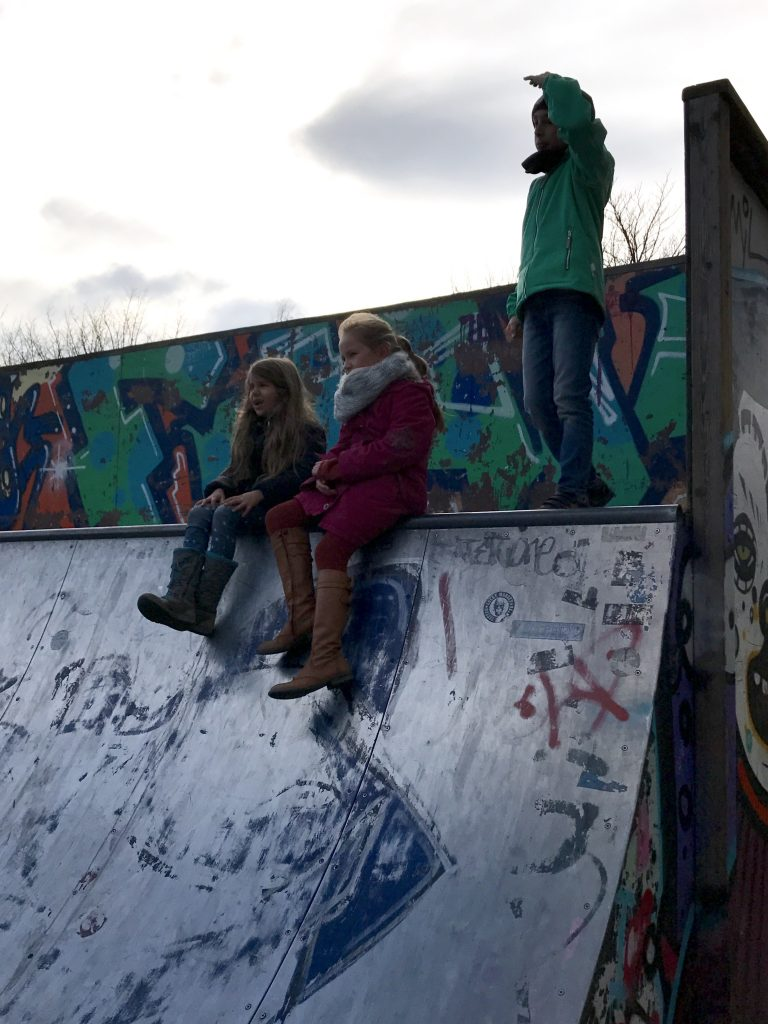 Urban Childhood, Halfpipe, Volkspark Friedrichshain