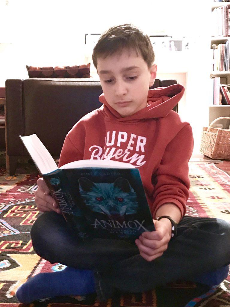 Lesen macht glücklich (Animox, das Heulen der Wölfe)
