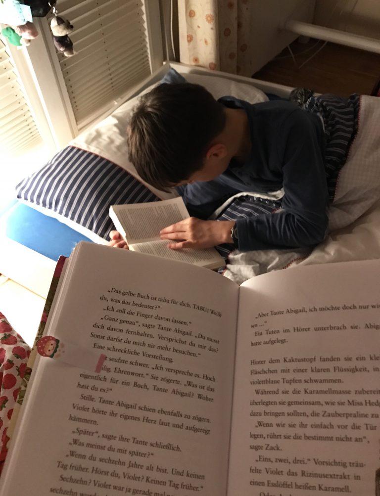Lesen macht glücklich | Berlinmittemom.com