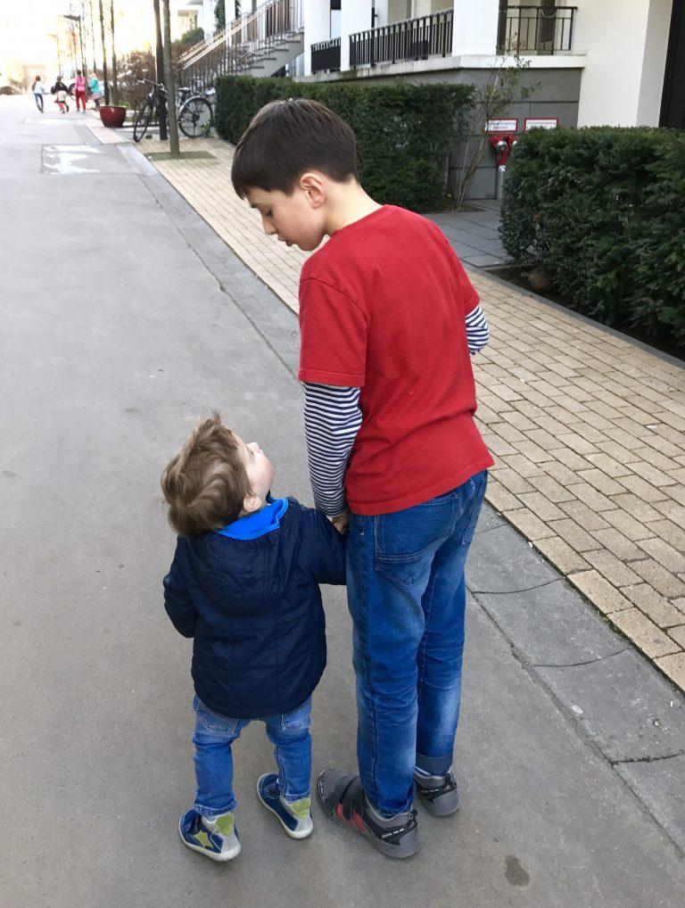 Eisessen mit dem großen Cousin |Berlinmittemom.com