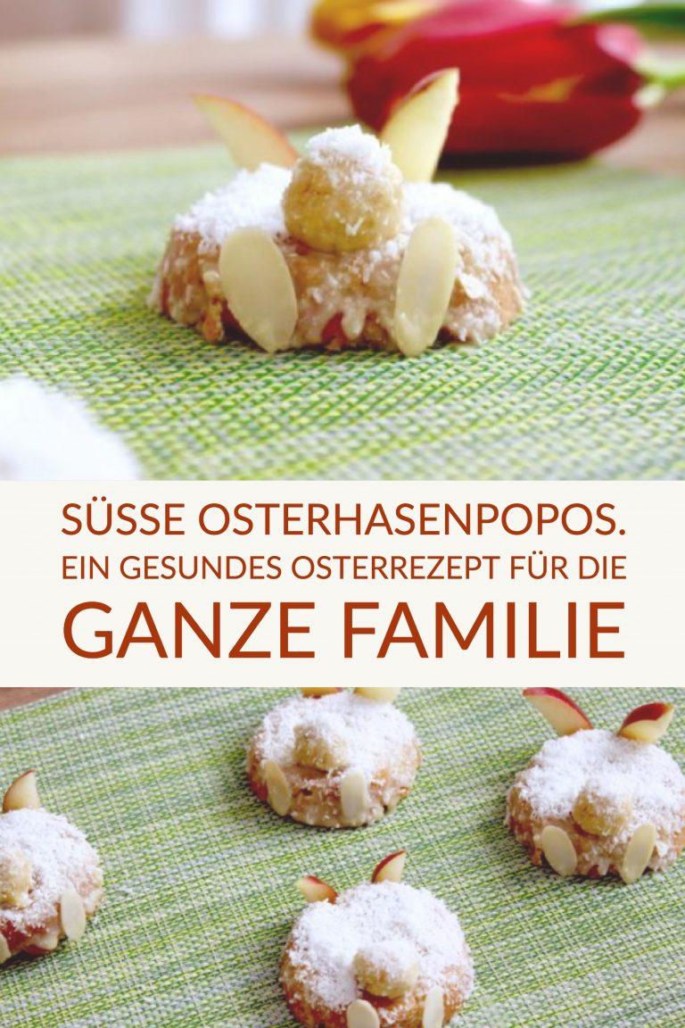 Süße Osterhasenpopos. Gesundes Osterrezept für die ganze Familie  | berlinmittemom.com