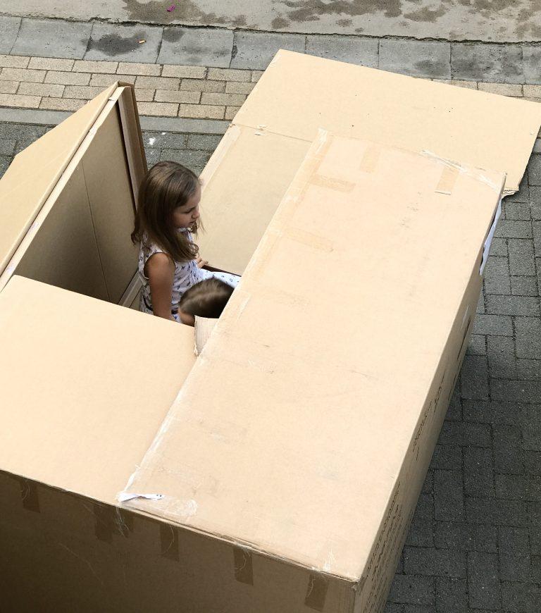 Papphaus im Freien | Berlinmittemom.com