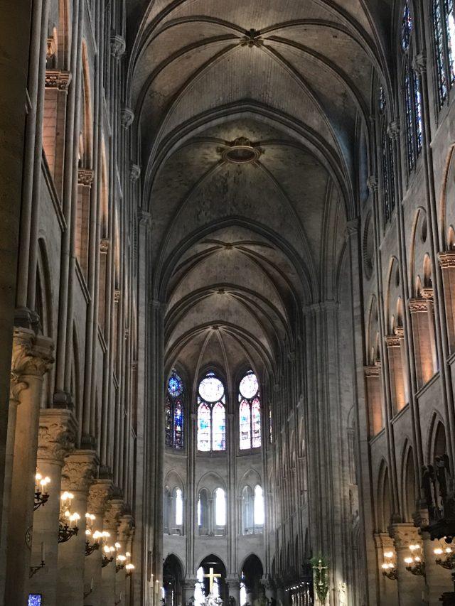 Nôtre Dame de Paris, Kirchenschiff | Berlinmittemom.com