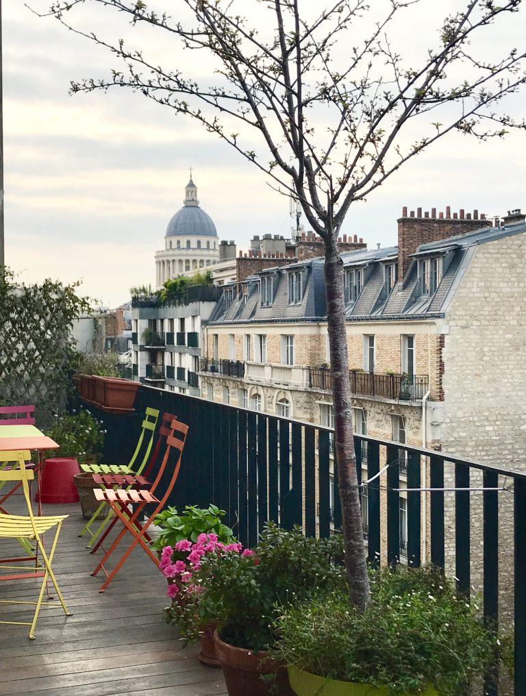 Paris im Regen, Quartier Latin