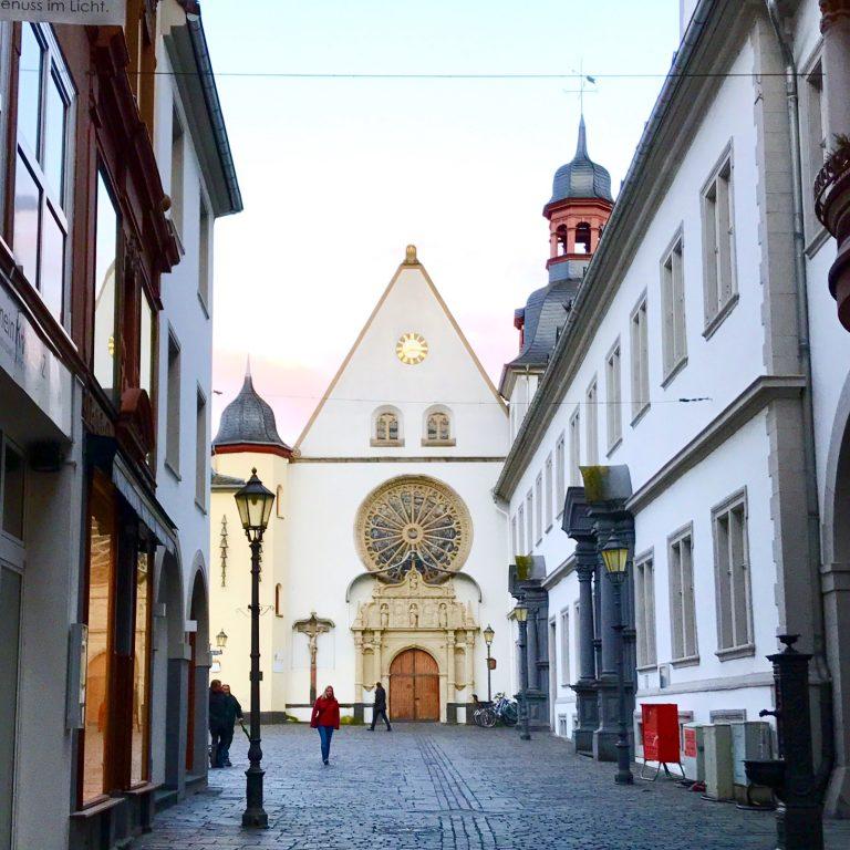 Jesuitenkirche in Koblenz | Berlinmittemom.com