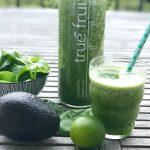 gesund und köstlich ::: grüner smoothie für kinder mit spinat und minze