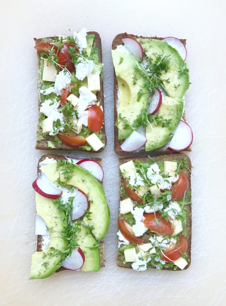 Avocadovariationen auf Brot | Berlinmittemom.com