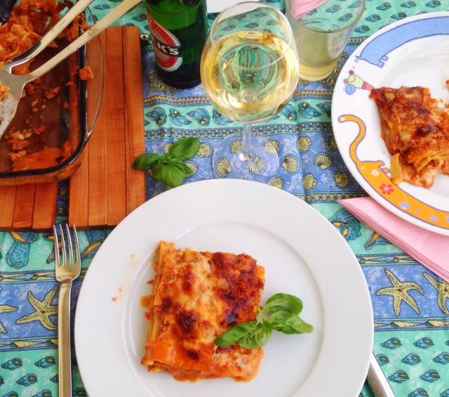 Lasagne mit Gemüse und Parmesankruste | Berlinmittemom.com