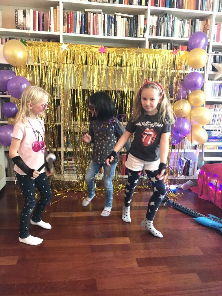 Tanzen am Rockstar Geburtstag