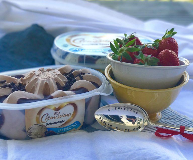 Laktosefreies Eis von Cremissimo