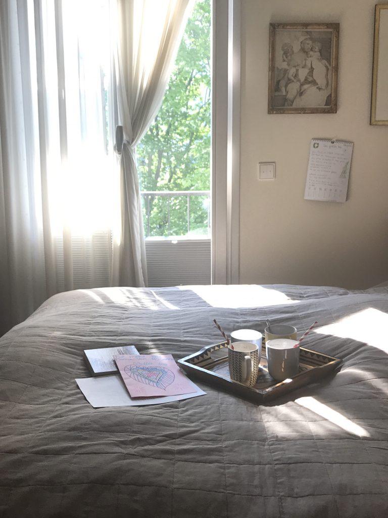Muttertag: Kakao und Kaffee im Bett | Berlinmittemom.com