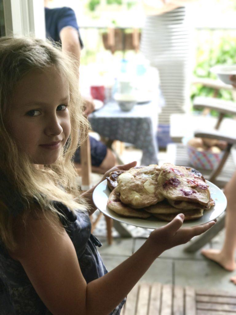Pancakes zum Frühstück | Berlinmittemom.com