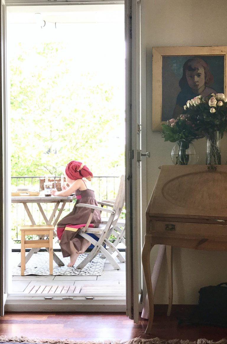 Sommer vorm Balkon | Berlinmittemom.com