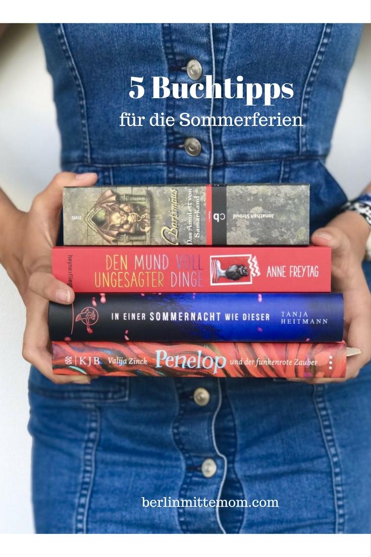 5 Buchtipps für die Sommerferien | berlinmittemom.com