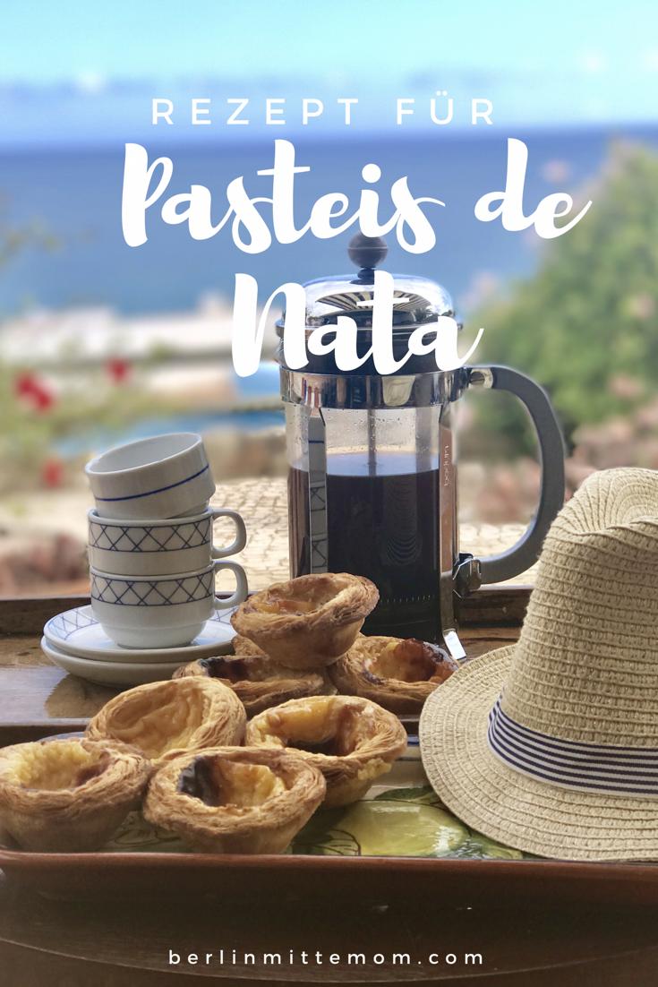 Rezept für Pasteis de Nata | berlinmittemom.com