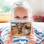 Wilde bunte Rockstarparty ::: Lieblingserinnerungen als Mini-Fotobuch