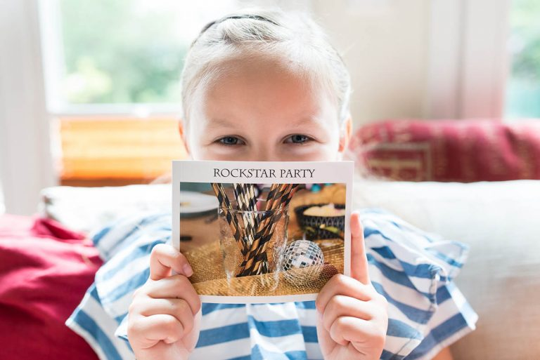 Rockstarparty im Mini Fotobuch | berlinmittemom.com