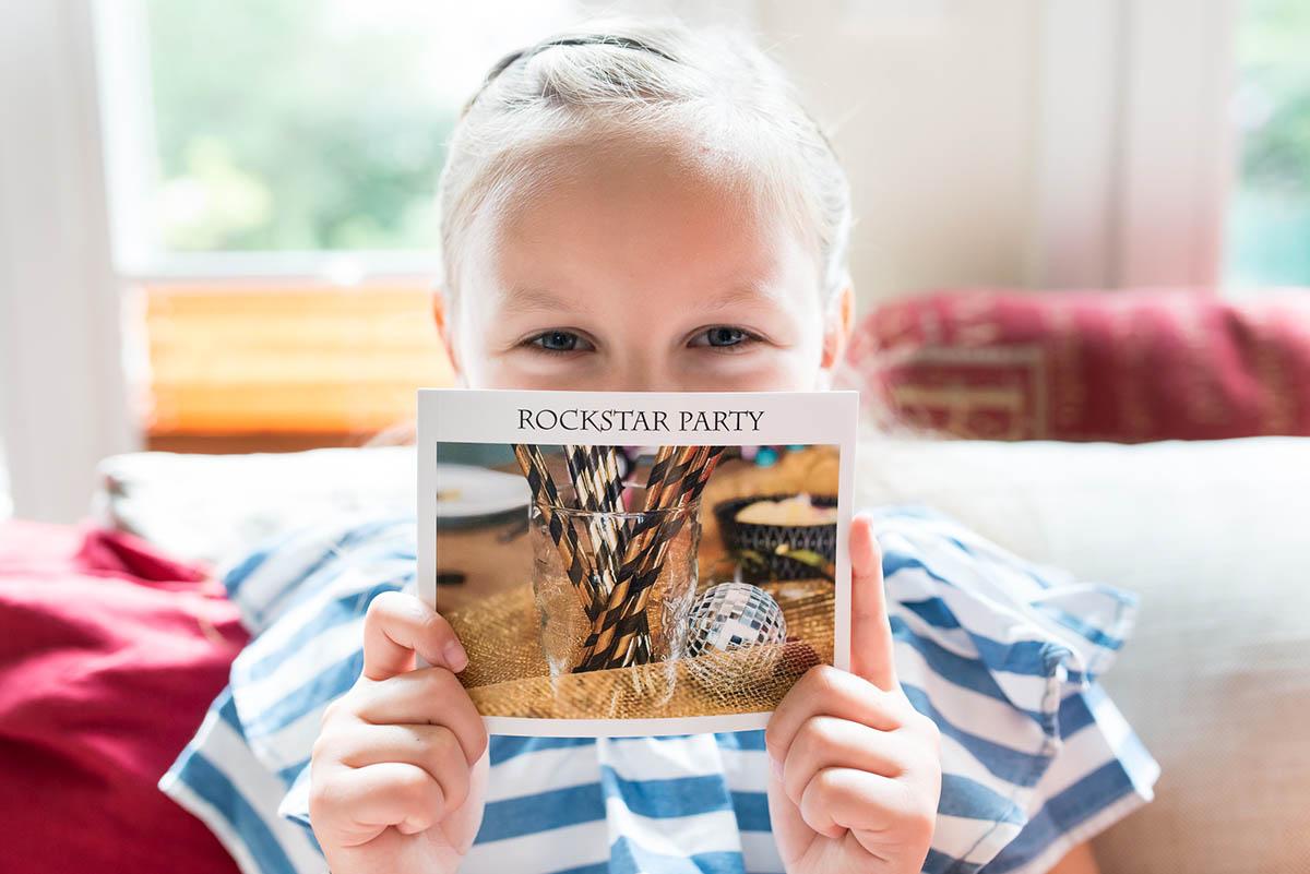 Rockstarparty im Mini Fotobuch   berlinmittemom.com