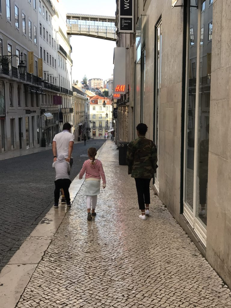Wochenende in Bildern, Familie in Lissabon