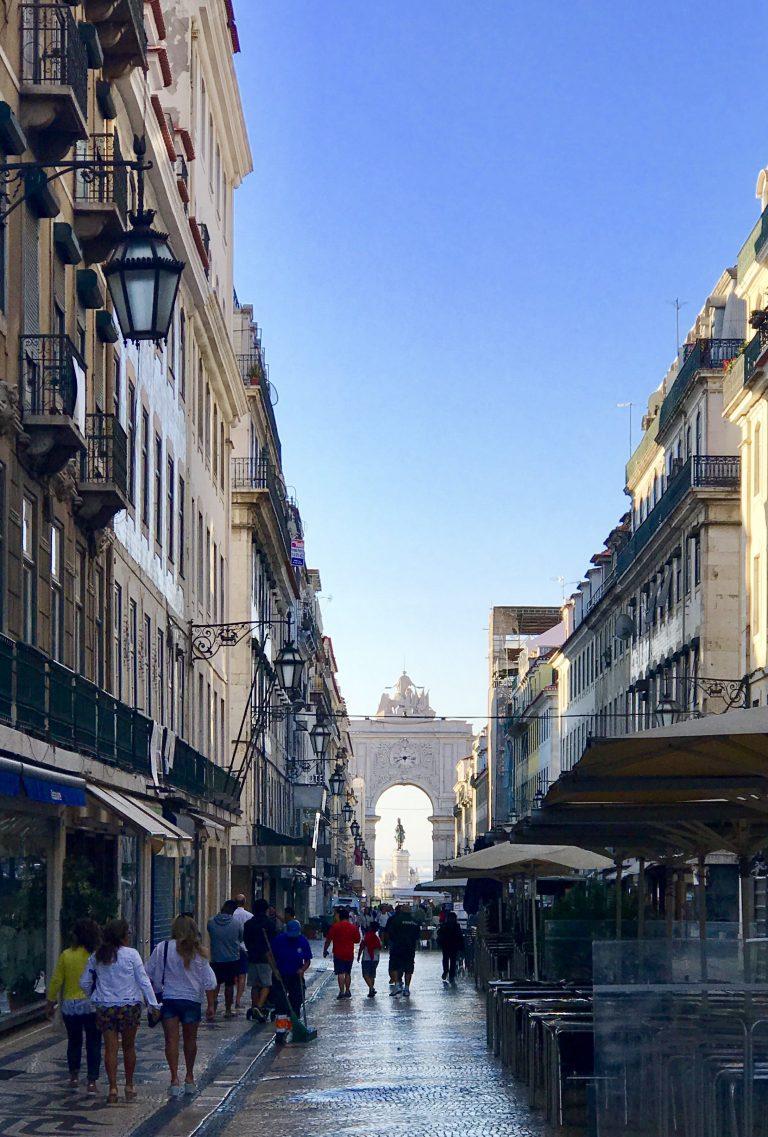 Triumphbogen Lissabon | berlinmittemom.com