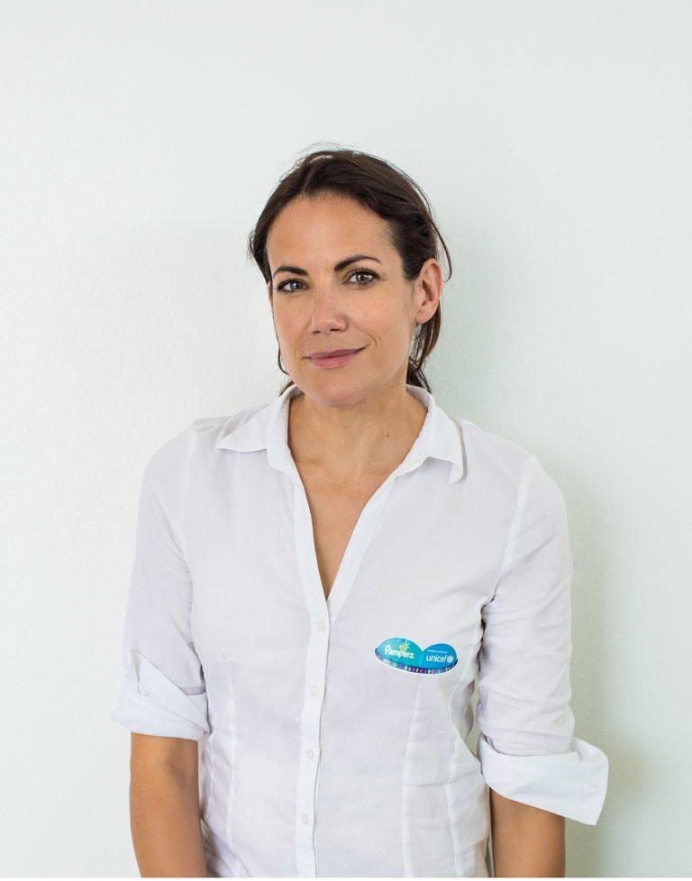Pampers für Unicef - Aktionsbotschafterin Bettina Zimmermann