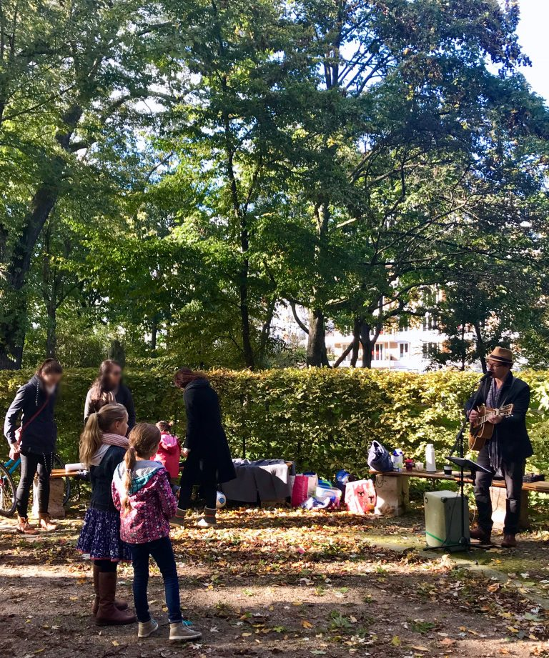 Straßenmusik im Park, Berlin | berlinmittemom.com