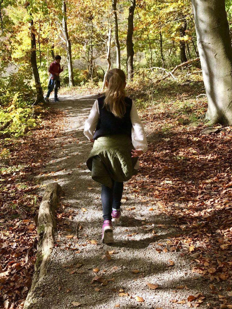 Waldelfe im Herbstwald | berlinmittemom.com