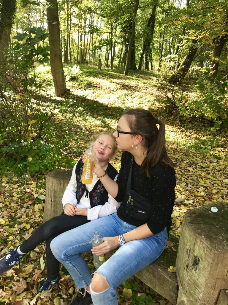 Trinkpause im Wald | berlinmittemom.com