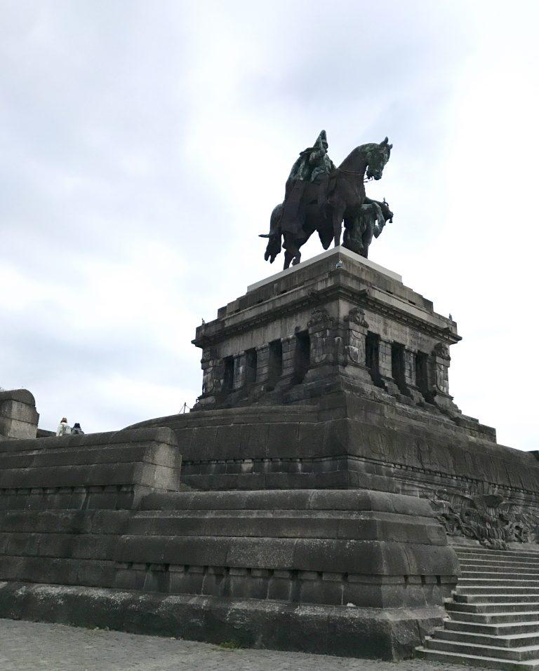 Deutsches Eck, Koblenz | berlinmittemom.com