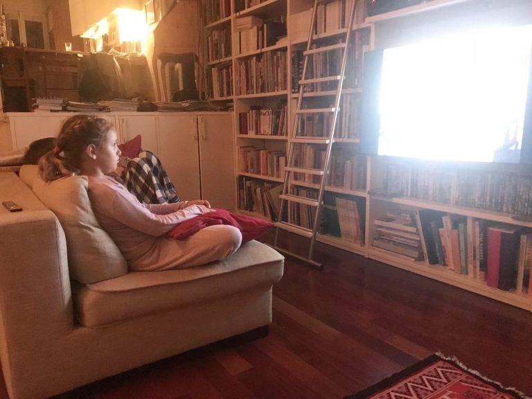 Wochenende in Bildern: Kinoabend auf der Couch | berlinmittemom.com