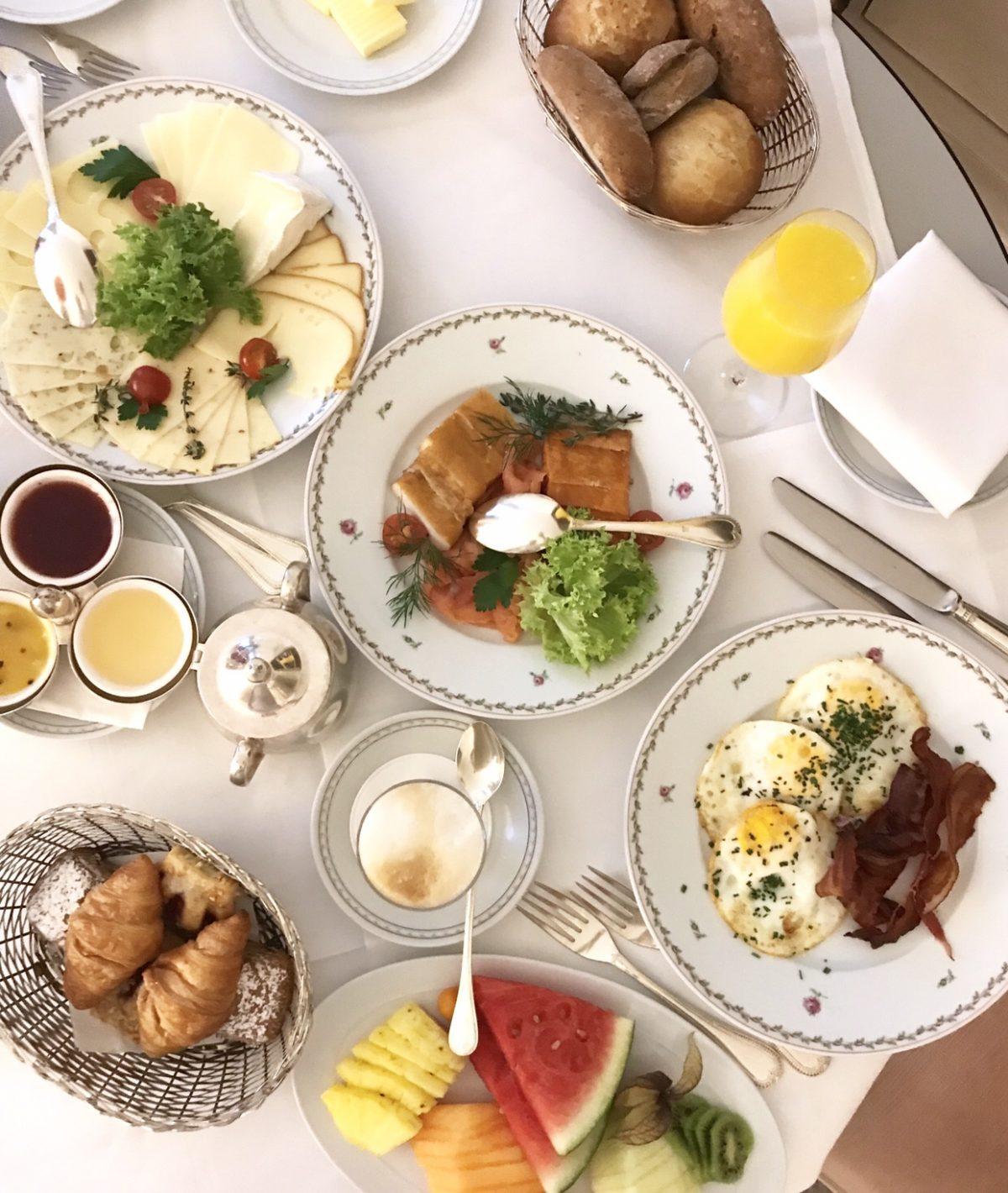 Wochenende in Bildern: Frühstück am Bett