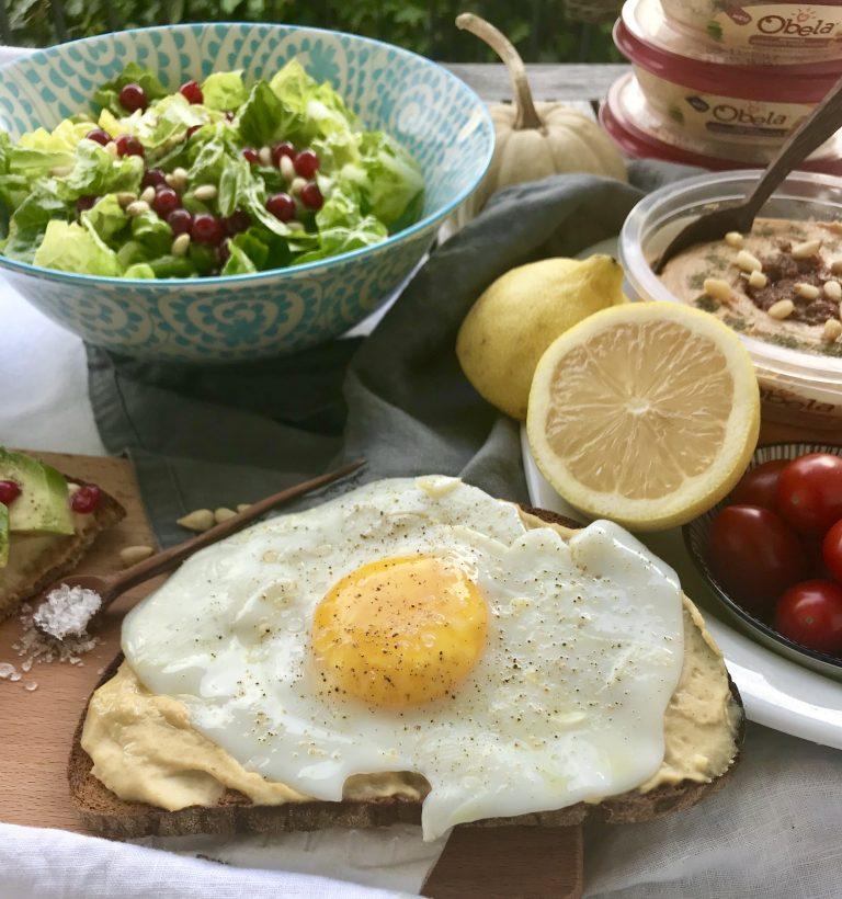 Obela Hummus und Spiegelei | berlinmittemom.com