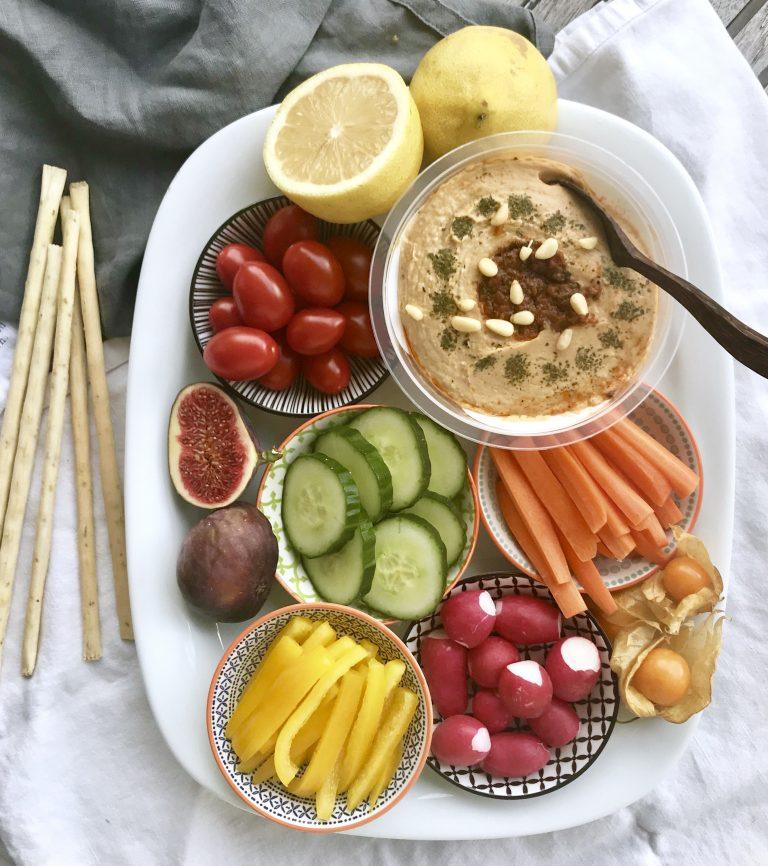 Rohkost mit Obela Hummus | berlinmittemom.com