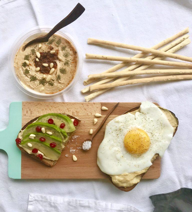 Obela Hummus mit Spiegelei | berlinmittemom.com
