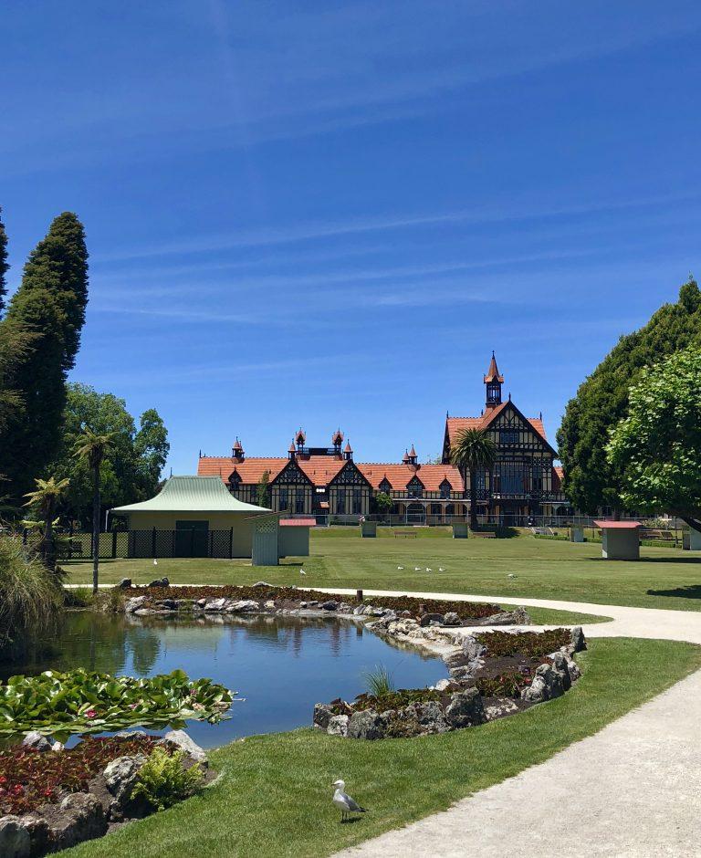 Rotorua mit Kindern: Government Gardens | berlinmittemom.com
