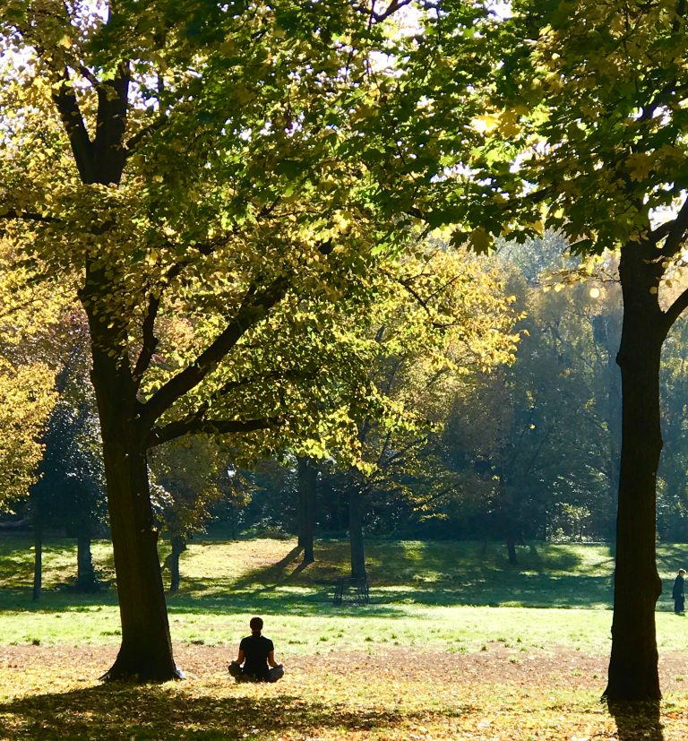 Yoga im Park | berlinmittemom.com