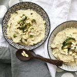 Auberginenpaste mit Sesam und Joghurt  | Mein liebstes Baba Ghanoush Rezept