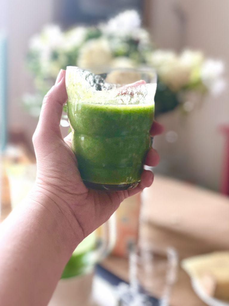 Wochenende in Bildern: Grüner Smoothie | berlinmittemom.com