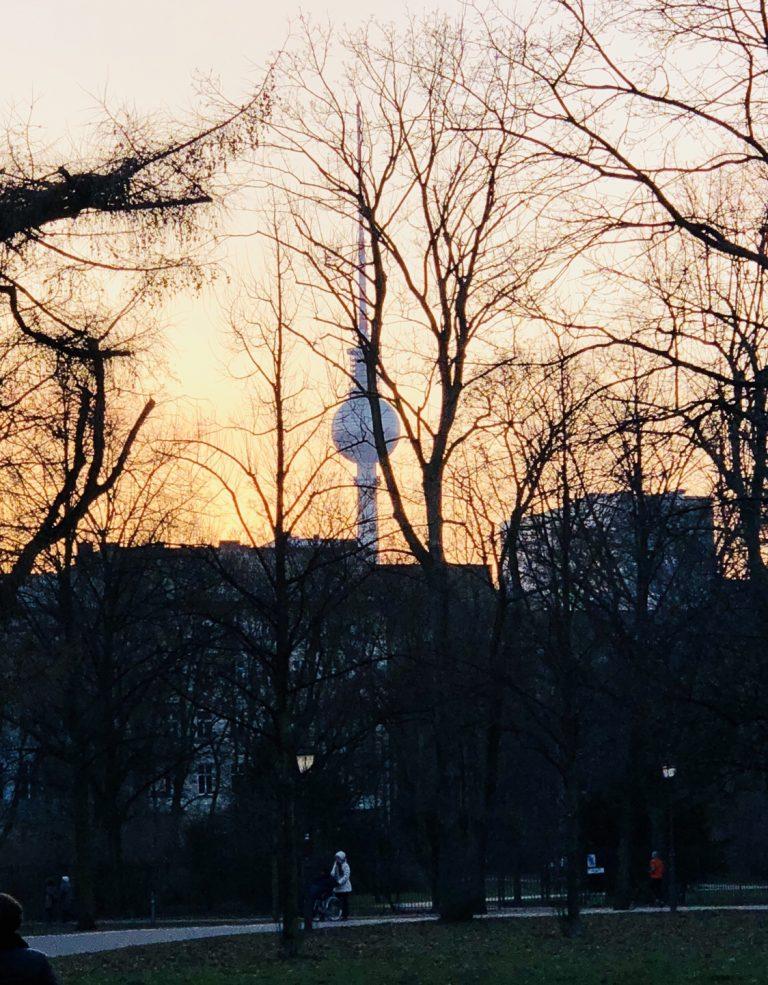 Fernsehturm Berlin, Volkspark Friedrichshain | berlinmittemom.com