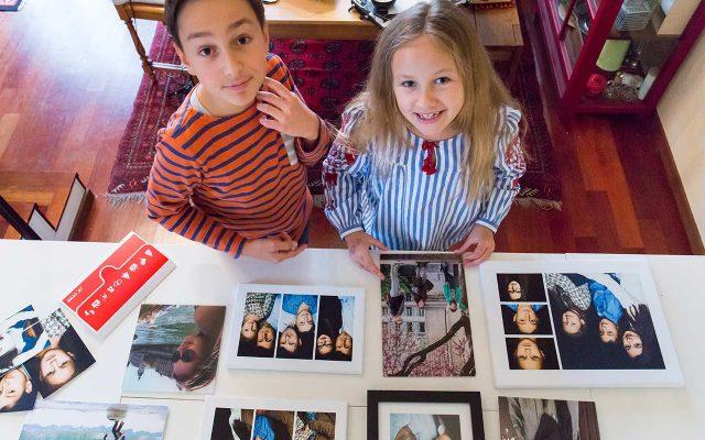 Familien Fotowand gestalten | berlinmittemom.com