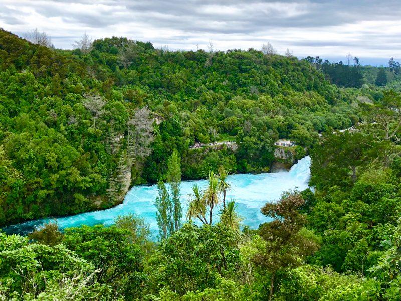 Mit Kindern in Taupo: Huka Falls | berlinmittemom.com