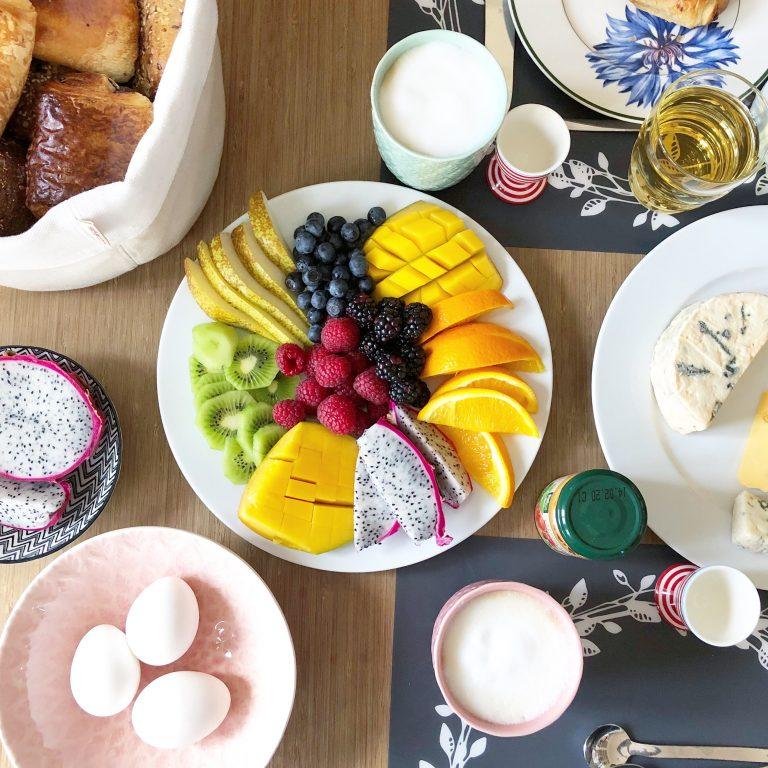Wochenende in Bildern: Samstagsfrühstück mit Obstmandala | berlinmittemom.com