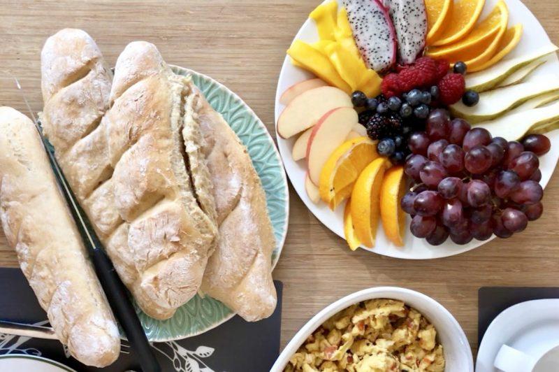 Frühstückstisch am Wochenende | berlinmittemom.com