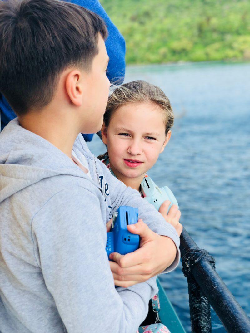 Auf dem Lake Taupo mit Kindern | berlinmittemom.com