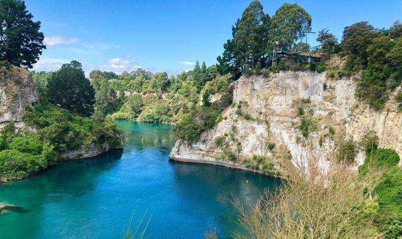 Huka Falls, Aratiatia Rapids & die Maori Rock Carvings | Mit Kindern in Taupo