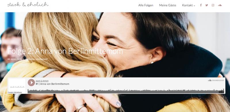 Stark & Ehrlich. Podcast von Ricarda Nieswandt | berlinmittemom.com