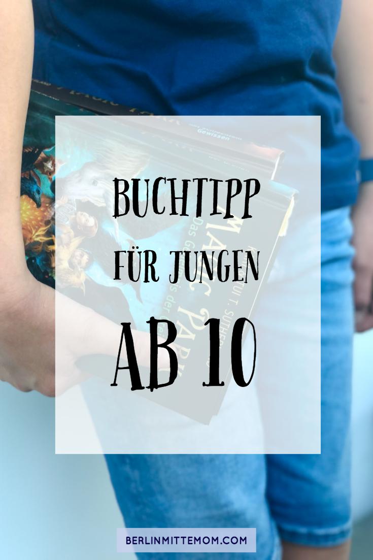 Buchtipp für Jungen ab 10 | berlinmittemom.com