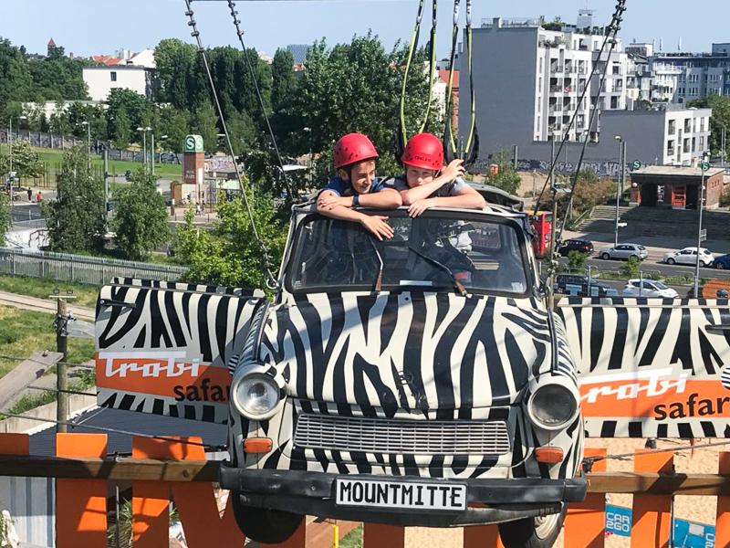 Kindergeburtstag im Hochseilgarten MountMitte | berlinmittemom.com