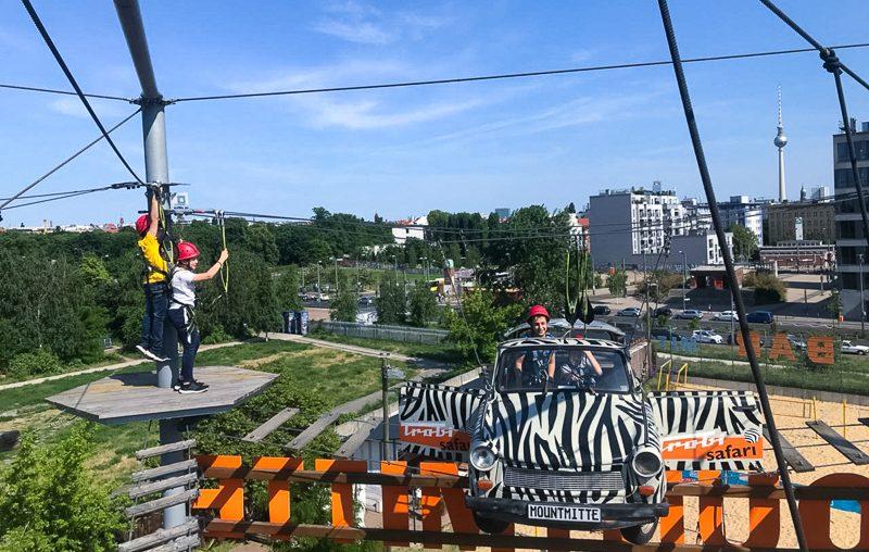 Klettern im Hochseilgarten MountMitte   Berlin-Tipp mit Kindern